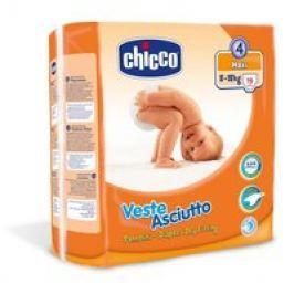 Chicco Veste Asciutto Pañales Grupo 4 «Maxi», 8-18 kg