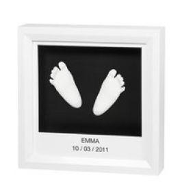 "Impresión 3D de mano y pie ""My little Steps"" Baby Art"