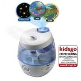 Humidificador frío con proyecto de luz 2 en 1 Sweet Dreams Wick