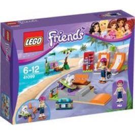 El parque de patinaje de Heartlake LEGO Friends