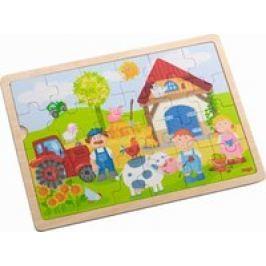 """Puzzle de madera """"La granja de Anton"""" Haba"""