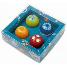 Bolas descubridores, juego de 4, Haba