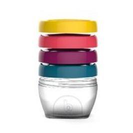 Set de contenedores para comida 120 ml Babymoov 4 pza