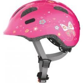 Abus Casco para niños Smiley 2.0 pink butterfly