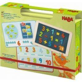 Caja de juego magnético 1, 2, a contar bien Haba