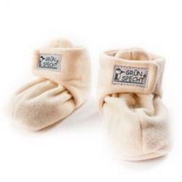 Zapatos de calor para bebés con semillas de canola