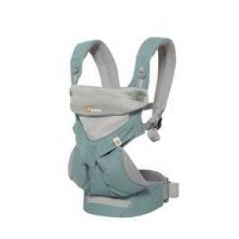 Mochila portabebés Ergobaby 360°- 4 posiciones - gris carbón Mesh