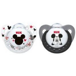 NUK Chupete ortodóntico Disney Mickey Trendline, silicona