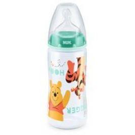 NUK Disney Winnie Pooh FIRST CHOICE+ Biberón, 300 ml