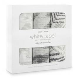 Pañales 3 Piezas, White Label Silky Soft Swaddle