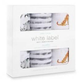Pañales 3 Piezas, White Label Silky Soft Swaddle