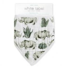 aden+anais White Label Triangle Bandana Bib
