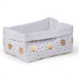 Childhome Storage Boxes Gold/ Dots
