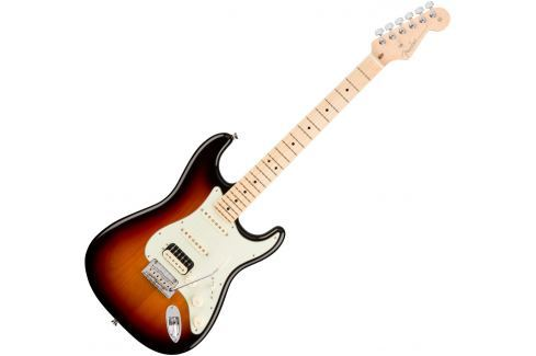 Fender American PRO Stratocaster HSS Shawbucker MN 3 Color Sunburst Modelos ST