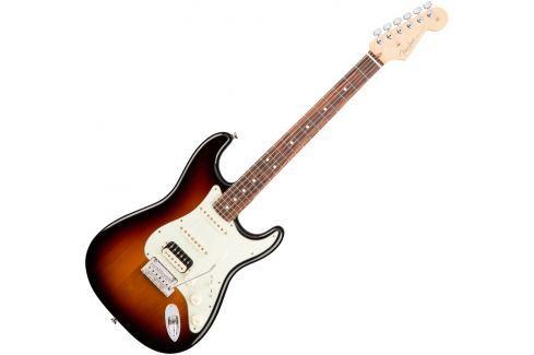Fender American PRO Stratocaster HSS Shawbucker RW 3 Color Sunburst Modelos ST