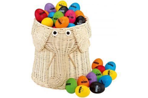 Nino VE80-NI540-2 Egg Shaker Assortment 80 pcs Conjuntos de percusión y percusión para niños