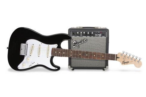 Fender Squier Strat Pack SSS Black Packs de guitarra eléctrica