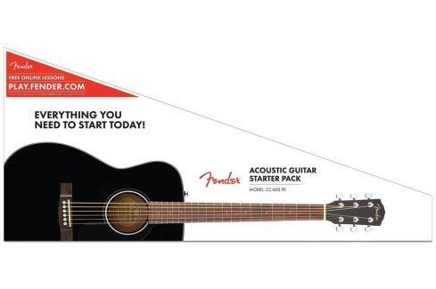 Fender CC-60S Concert Pack Black Packs de guitarra acústica