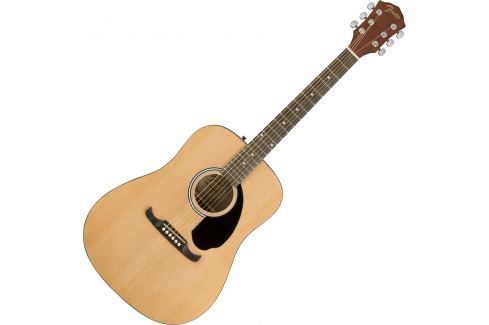 Fender FA-125 Dreadnought Acoustic Natural Guitarras dreadnought