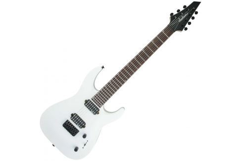 Jackson JS Series Dinky JS32-7 Arch Top DKA RW Snow White Guitarras eléctricas de 7 cuerdas