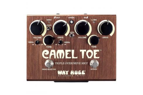 Way Huge Camel Toe Overdrive Overdrive / Distorsión / Fuzz / Booster
