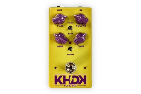KHDK Electronics Scuzz Box Overdrive / Distorsión / Fuzz / Booster