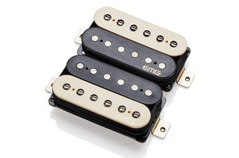 EMG Fat 55-F Set Zebra Pastillas Humbucker