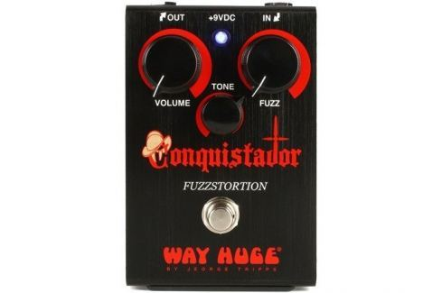 Way Huge Conquistador Fuzzstortion Overdrive / Distorsión / Fuzz / Booster