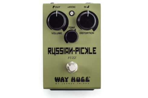 Way Huge WHE408 Russian Pickle Fuzz Overdrive / Distorsión / Fuzz / Booster