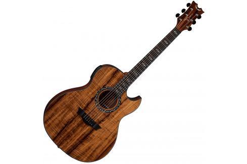 Dean Guitars Exhibition A/E - Koa Jumbo con electrónica
