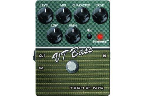 Tech 21 SansAmp Character VT Bass V2 Overdrive / Distorsión / Fuzz / Booster