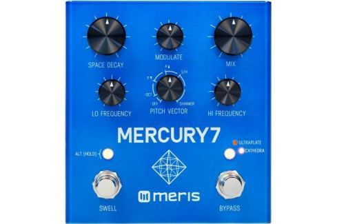 Meris Mercury 7 Reverb Pedal Delays / Reverberación