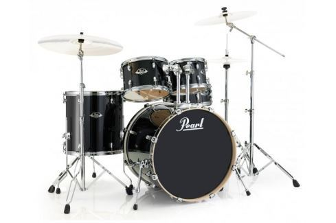 Pearl EXL725S Export EXL Black Smoke Conjuntos de batería acústica Rock 22-12-13-16