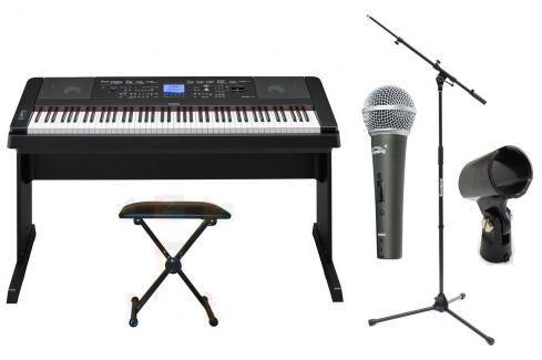 Yamaha DGX-660 BK SET Pianos digitales