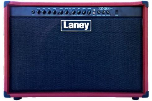 Laney LX120R Twin Red Combos a transistores