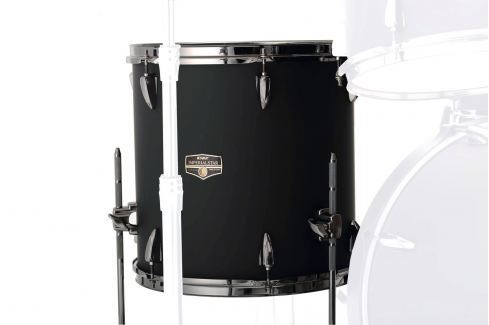 Tama IPF18D Imperialstar Blacked Out Black Tomtoms de suelo