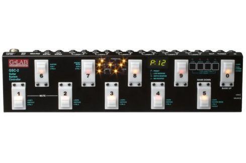 G-Lab Guitar System Controller GSC-2 Conmutadores y pulsadores para amplificador