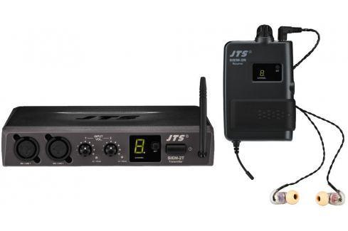 JTS SIEM-2/2 In-Ear Monitoring System Sistemas inalábricos de tipo In-Ear