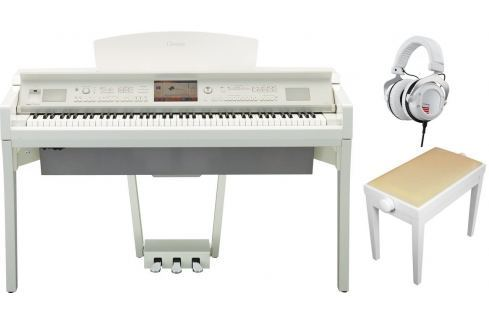 Yamaha CVP 709 Polished WH SET Pianos digitales