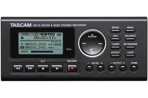 Tascam GB-10 Grabadores digitales portables