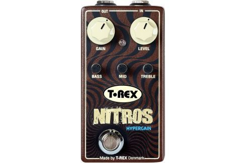T-Rex Nitros Overdrive / Distorsión / Fuzz / Booster