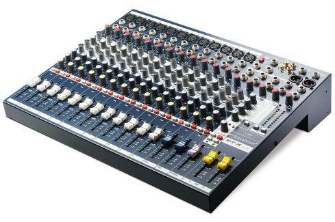 Soundcraft EFX12 Mesas de mezcla hasta 20 canales