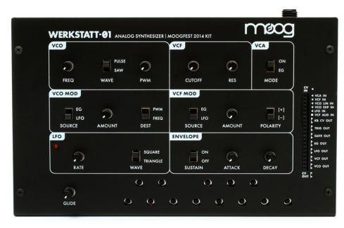 MOOG Werkstatt-01 Sintetizadores