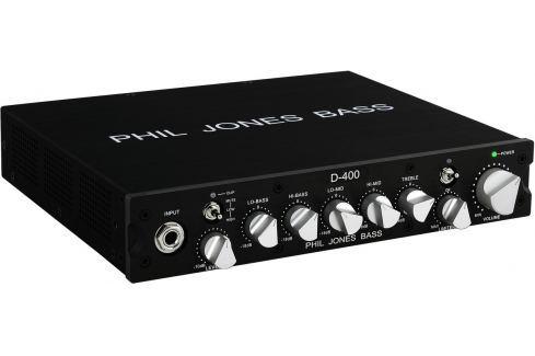 Phil Jones Bass D-400 Cabezales para bajos ultraligeros