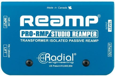 Radial ProRMP Reamp Di- Box, Splitter
