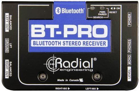 Radial BT-Pro Bluetooth Direct Box Di- Box, Splitter