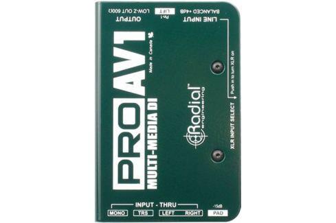 Radial ProAV1 Multimedia DI Di- Box, Splitter