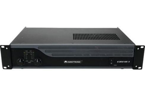Omnitronic E-300 MKII Preamplificadores y amplificadores rack