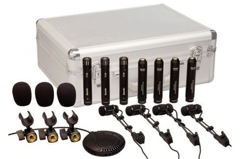 Superlux DRK 681 Drum Microphone Kit Micrófonos para batería y percusión