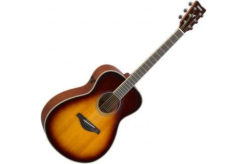 Yamaha FS-TA Brown Sunburst Otras guitarras con electrónica